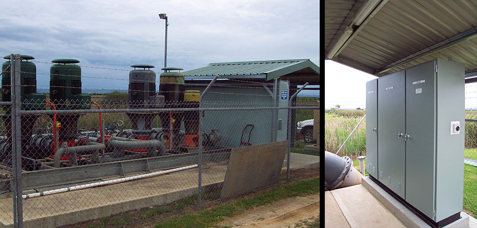 PUMP & WASTE WATER STATIONS